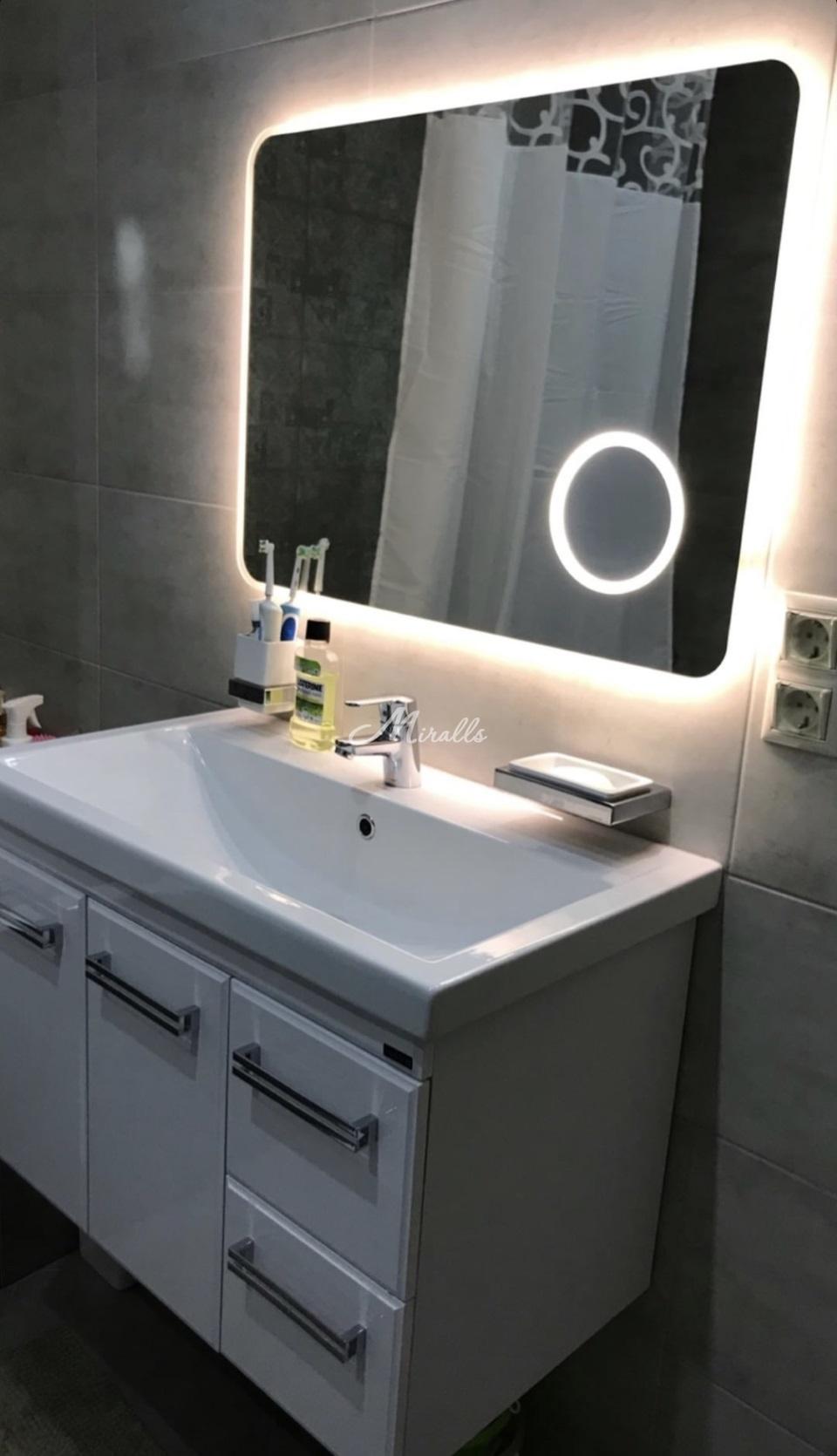 Зеркало XL в частной квартире (ЖК Green Park)