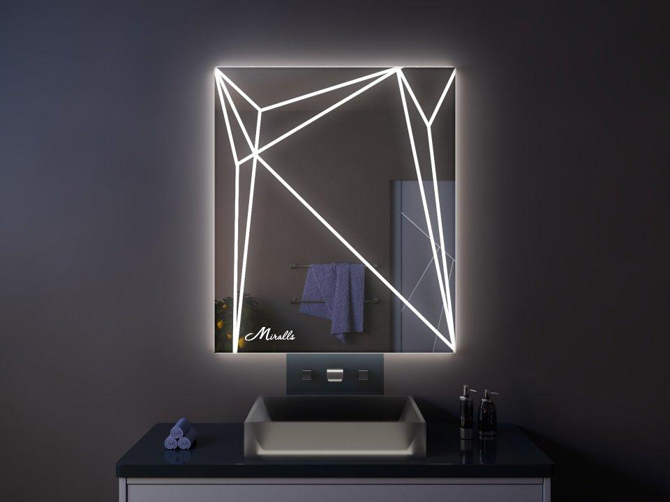 Зеркало с подсветкой Zodiac