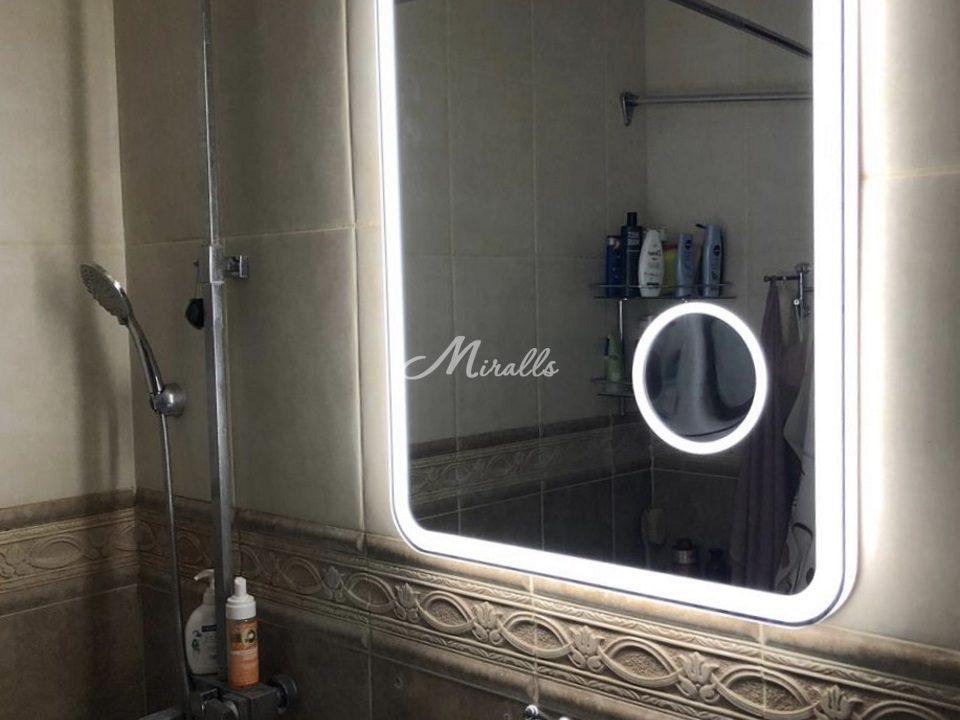 Прототип зеркала с подсветкой Camelia