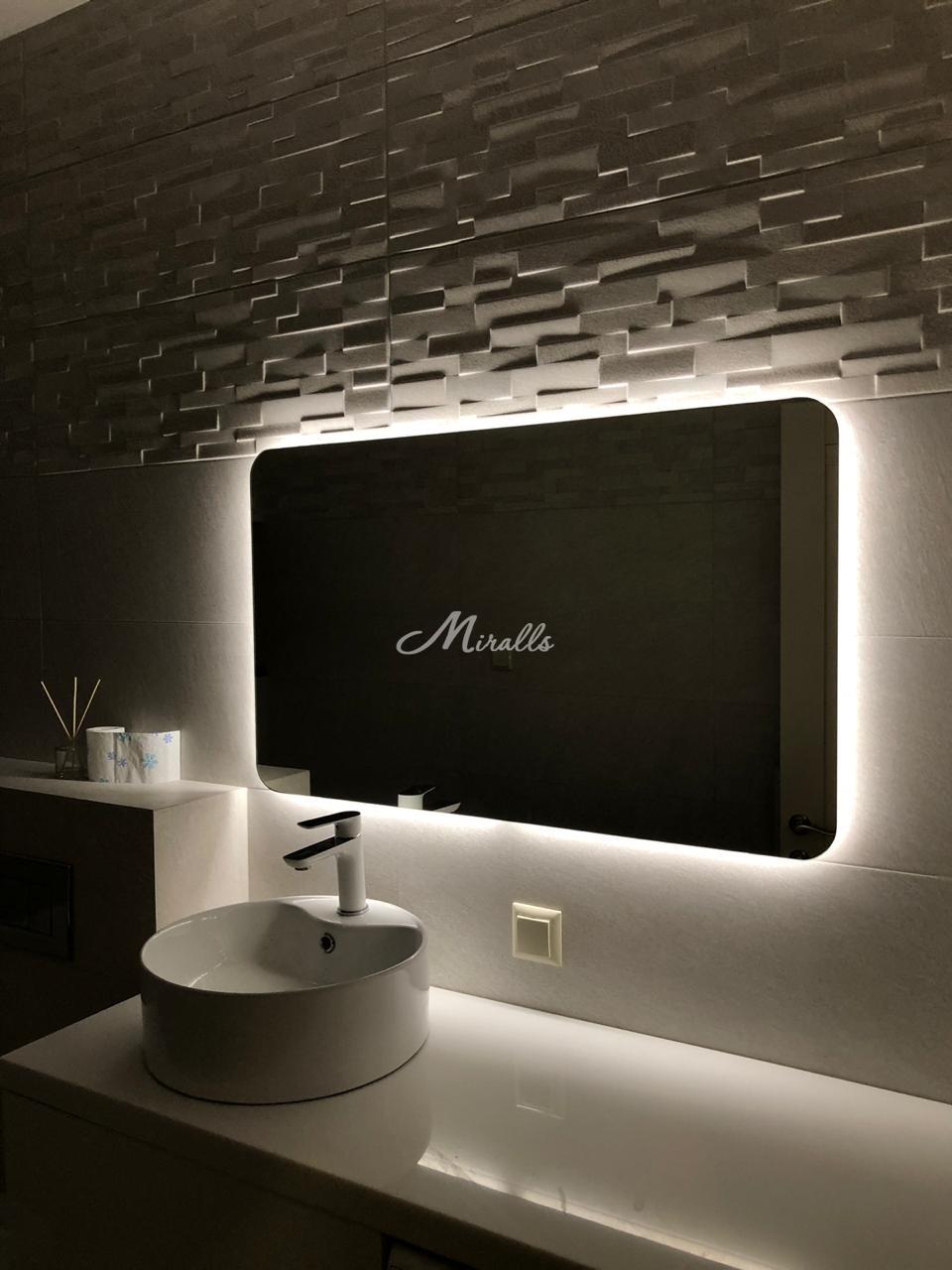 Зеркало Light в частной квартире (ЖК Авентин)