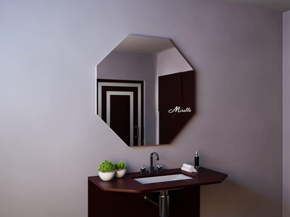 Зеркало в стиле хай-тек Loft