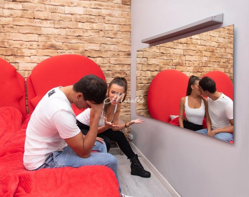 Зеркала Miralls в проекте «Дом 2» на ТНТ