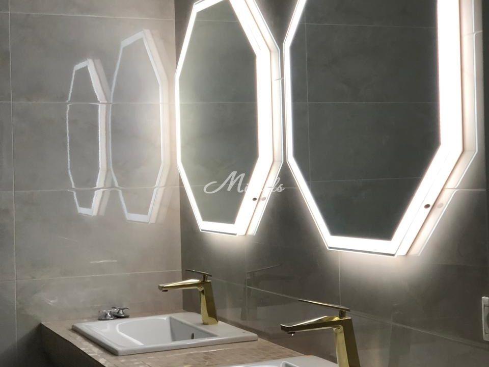 Зеркало Prisma с сенсором движения и холодной подсветкой