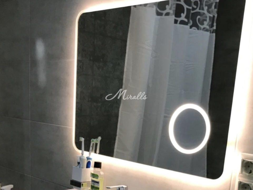 Увеличительное зеркало с подсветкой Zoom