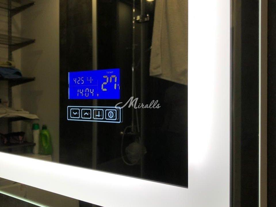 Зеркало Edging с сенсорными часами