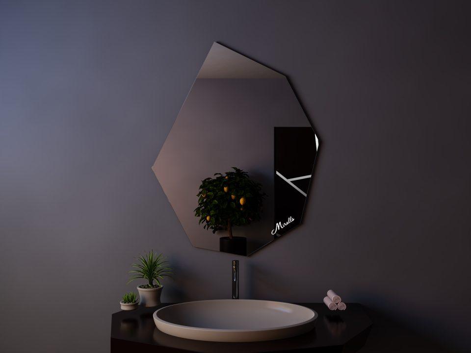 Зеркало без подсветки Crystal