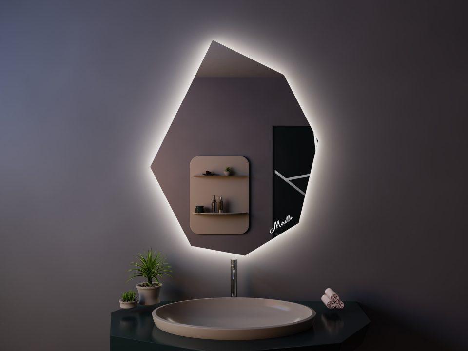 Зеркало с подсветкой Crystal Extra