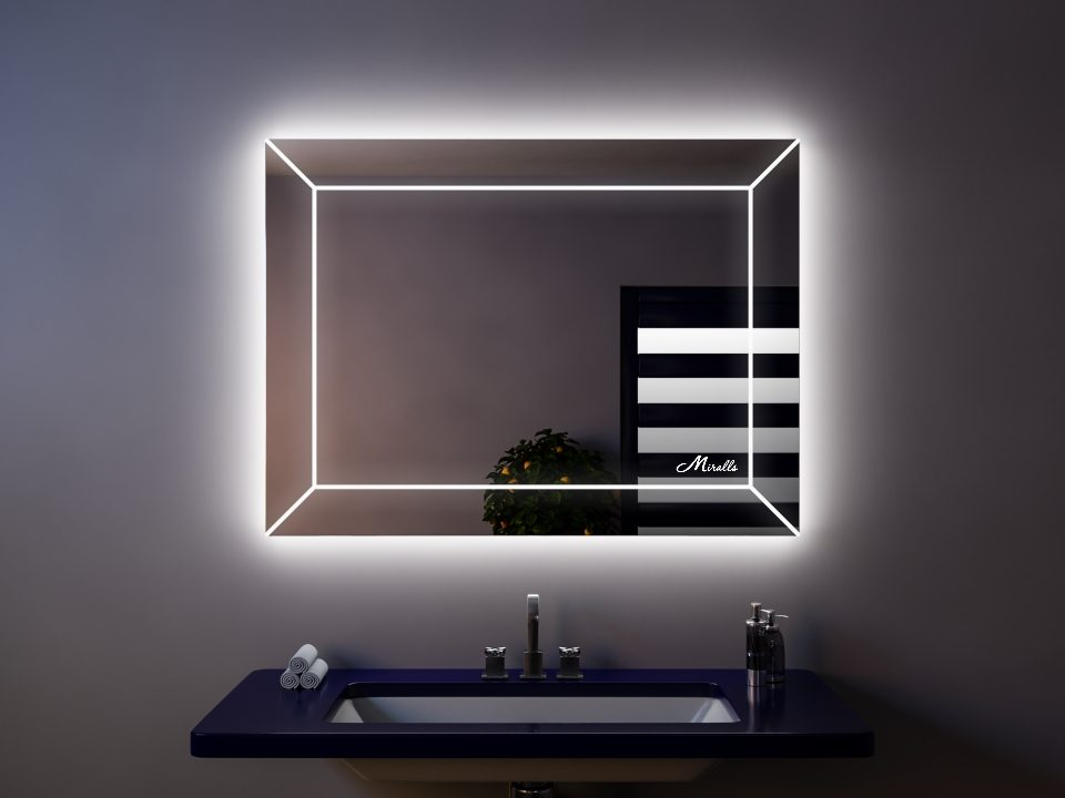 Зеркало с подсветкой Lord