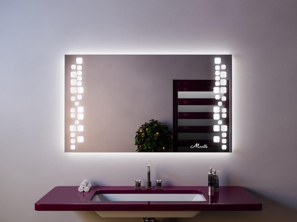 Зеркало с подсветкой Megapolis