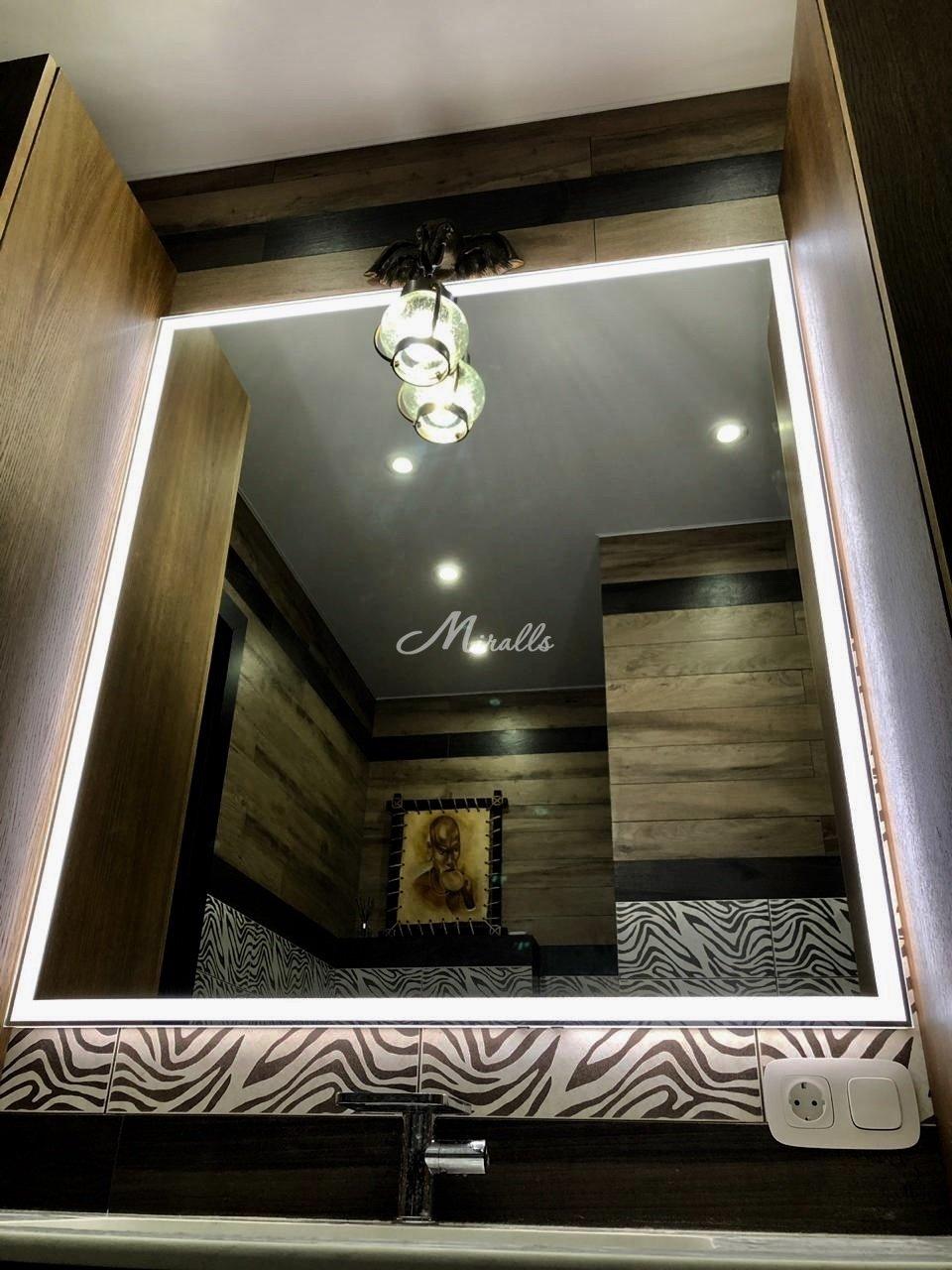 Зеркало Murano Extra в частной квартире (ЖК Red Side)