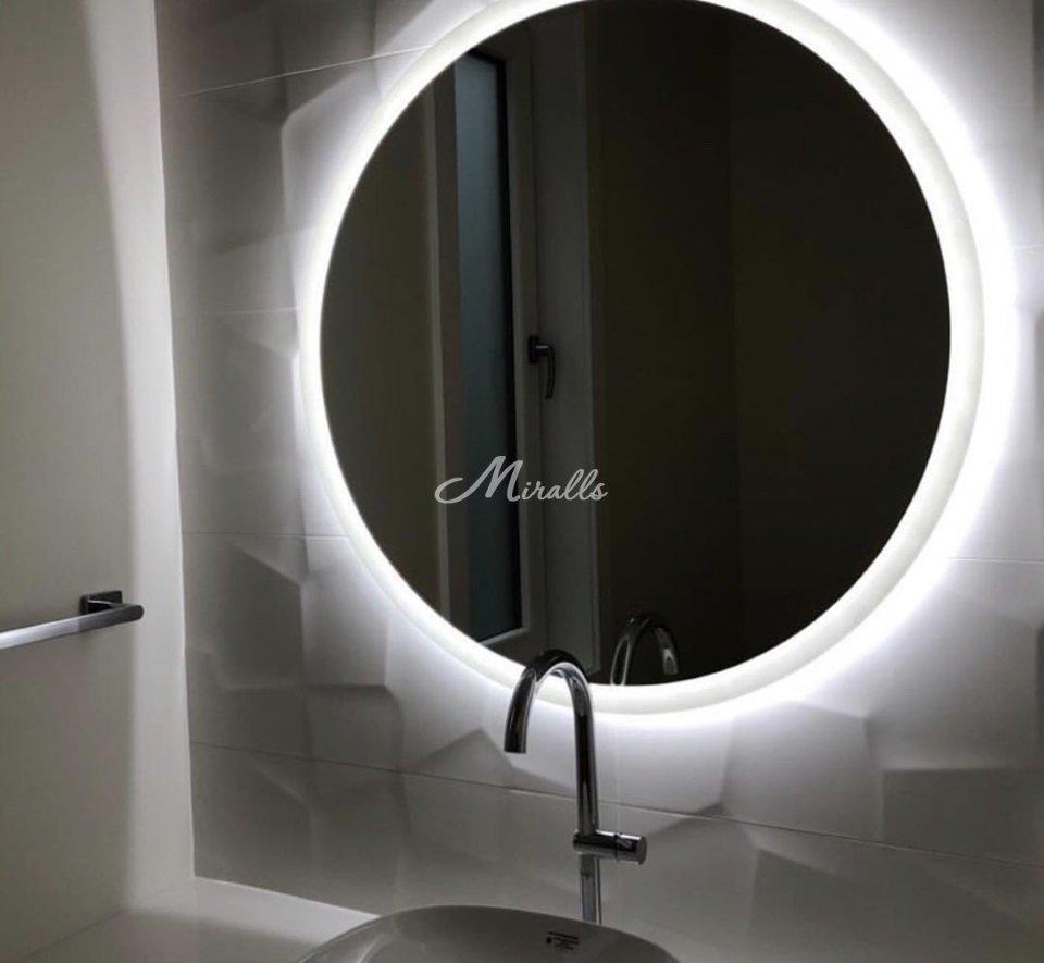Зеркало Disk в частной квартире (ЖК Путилково)