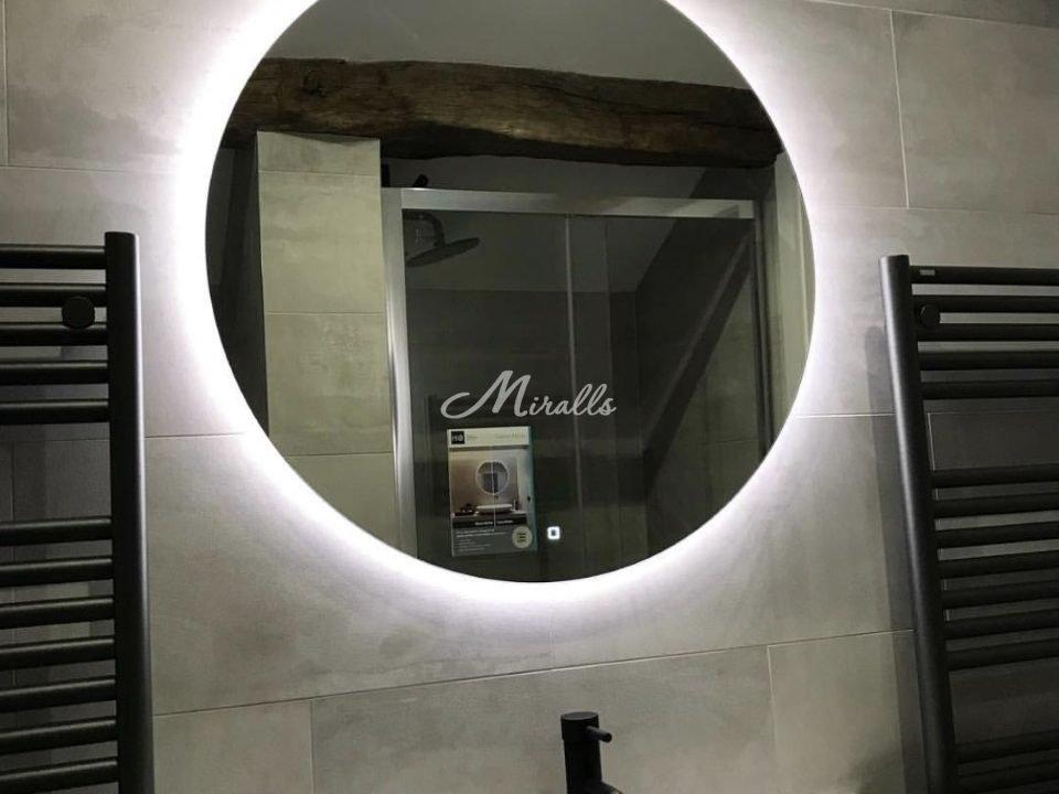 Зеркало Eclipse в частной квартире (ЖК Ярославский)