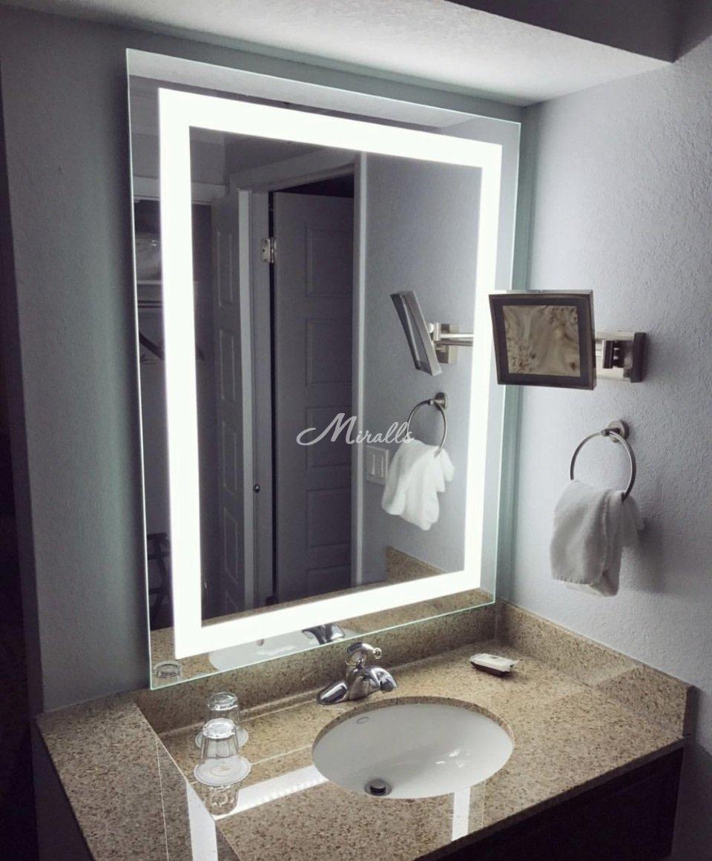 Зеркало Edging в частном интерьере (ЖК Одинцово-1)