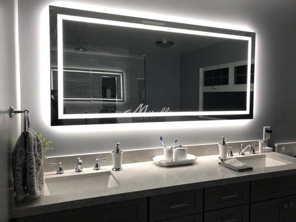 Зеркало Edging в загородном доме (Одинцово)