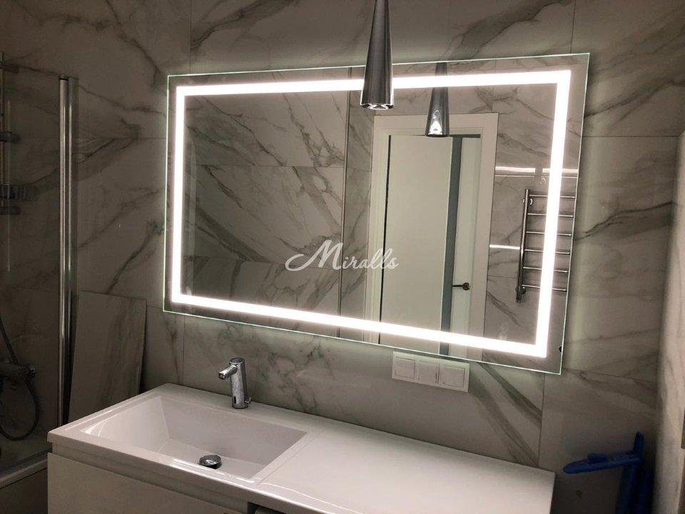 Зеркало Edging с нейтральной подсветкой (ЖК Татьянин парк)