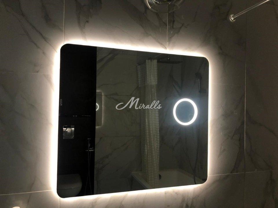 """Зеркало Lux с дополнительной опцией """"увеличительное зеркало»"""