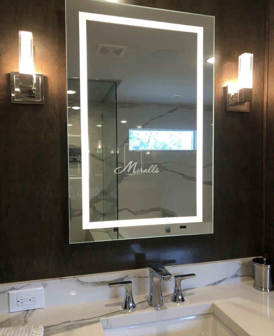 Зеркало Millennium в частной квартире (ЖК Green Park)
