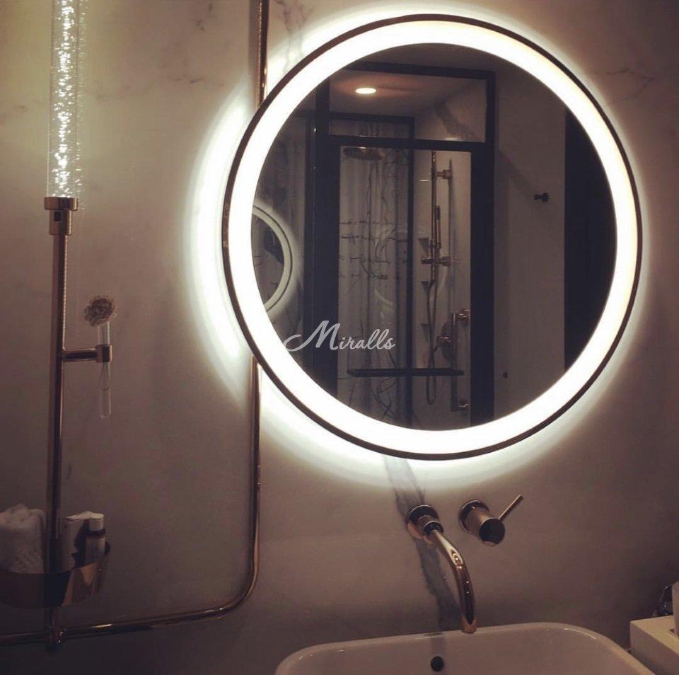 Зеркало Ring в частной квартире (ЖК Новогиреевский)