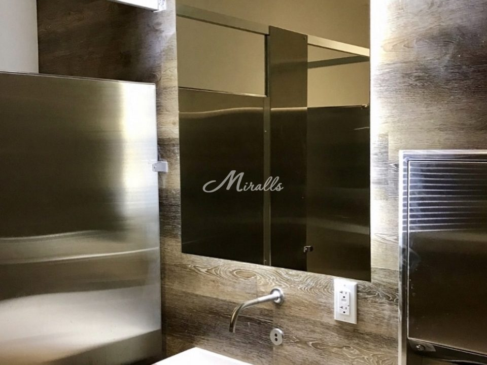 Модификация зеркала Valerya в частной квартире (ЖК Летний сад)