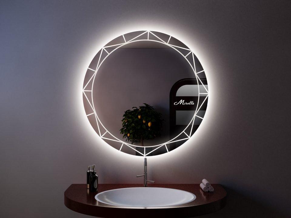 Зеркало с подсветкой Magic