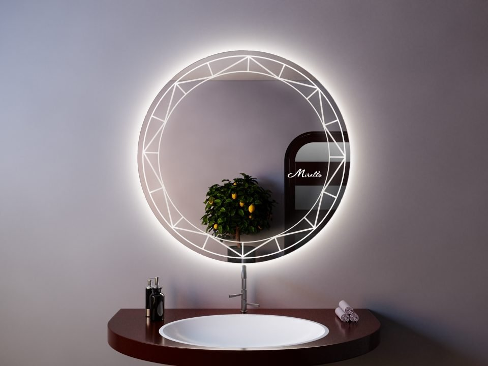 Зеркало с подсветкой Shambala