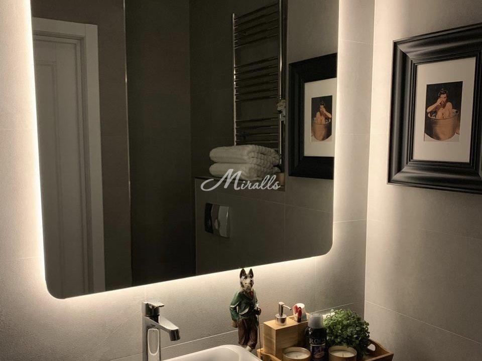 Зеркало Lux в частной квартире (ЖК Наследие)
