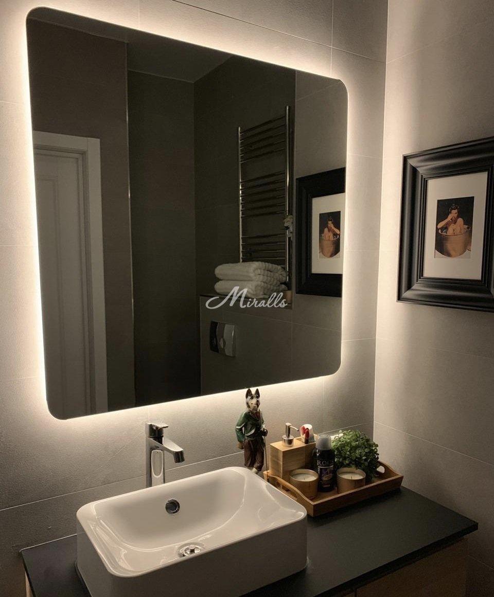 Зеркало Light в частной квартире (ЖК Наследие)
