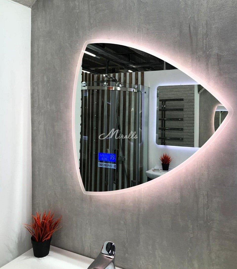 Зеркало Meteor на экспозиции у наших партнеров (ТЦ Твой Дом)