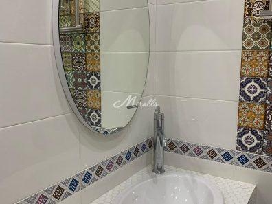Зеркало Azora в выключенном состоянии в ЖК Савеловский Сити