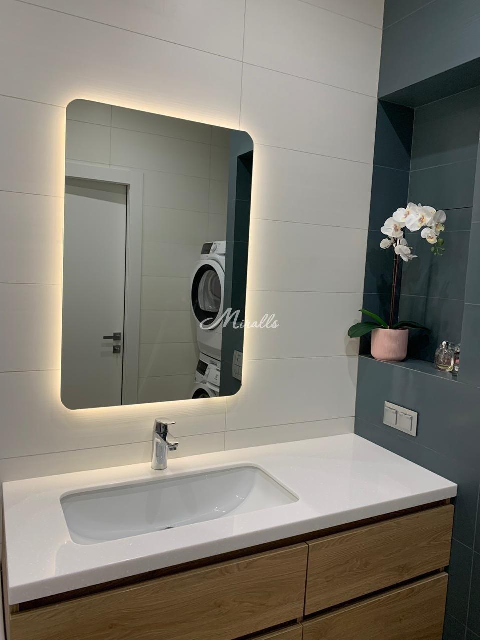 Зеркало LUX в частной квартире (ЖК Символ)