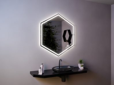 Зеркало с подсветкой Molecula