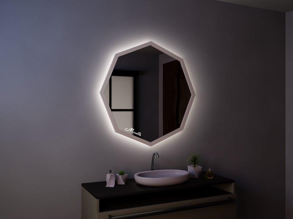 Зеркало с подсветкой Oriental
