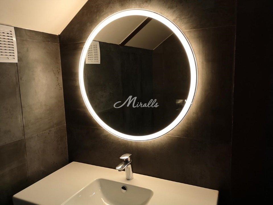 Зеркало Ring в частной квартире (ЖК Red Side)