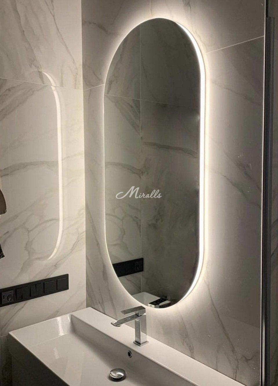 Зеркало Serena в частной квартире (ЖК Red Side)