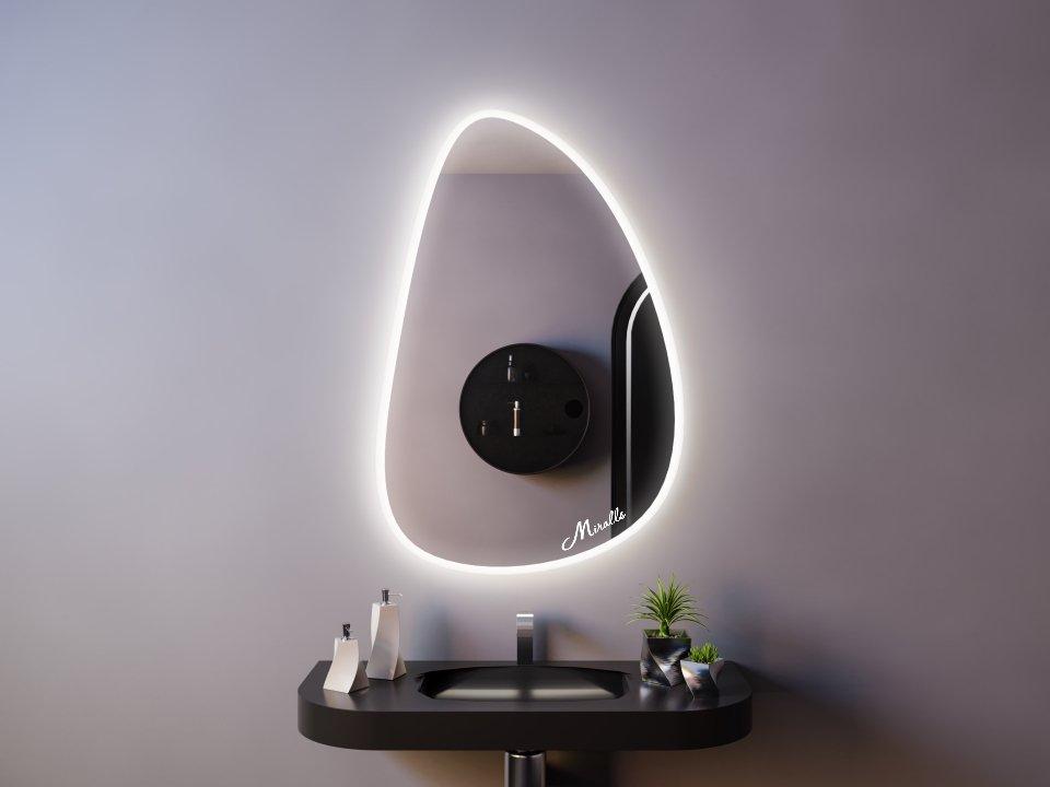 Зеркало с подсветкой Stone