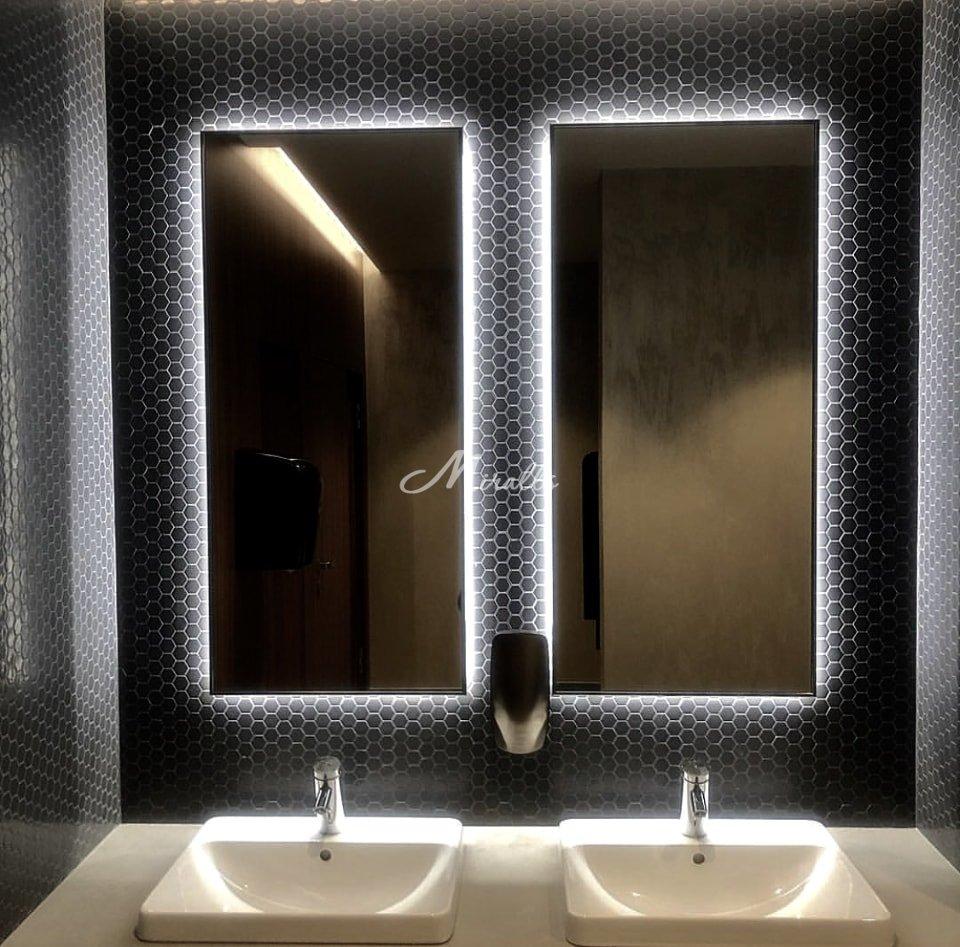 Зеркала Basic в частной квартире в ЖК «Алые Паруса»