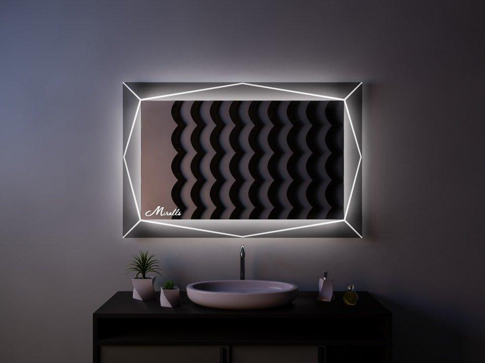 Зеркало с подсветкой Diamand