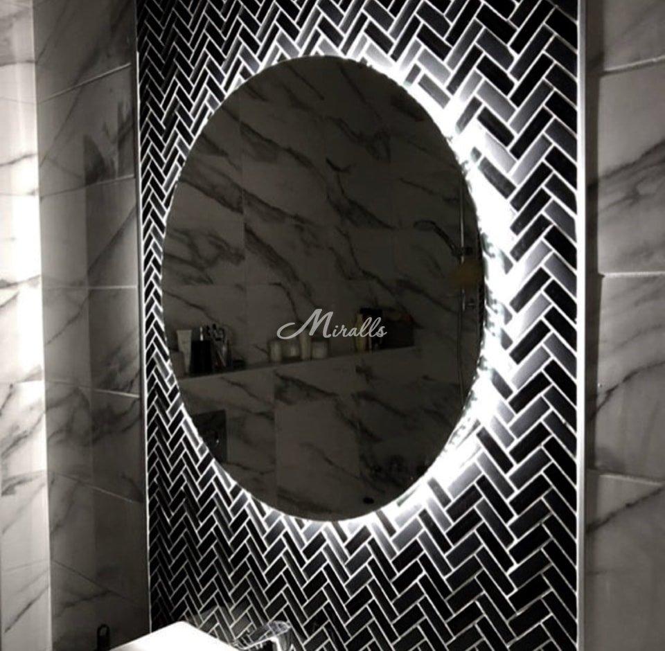 Зеркало Eclipse в частной квартире (ЖК Мир Митино)