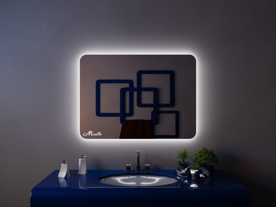 Зеркало с подсветкой Lux