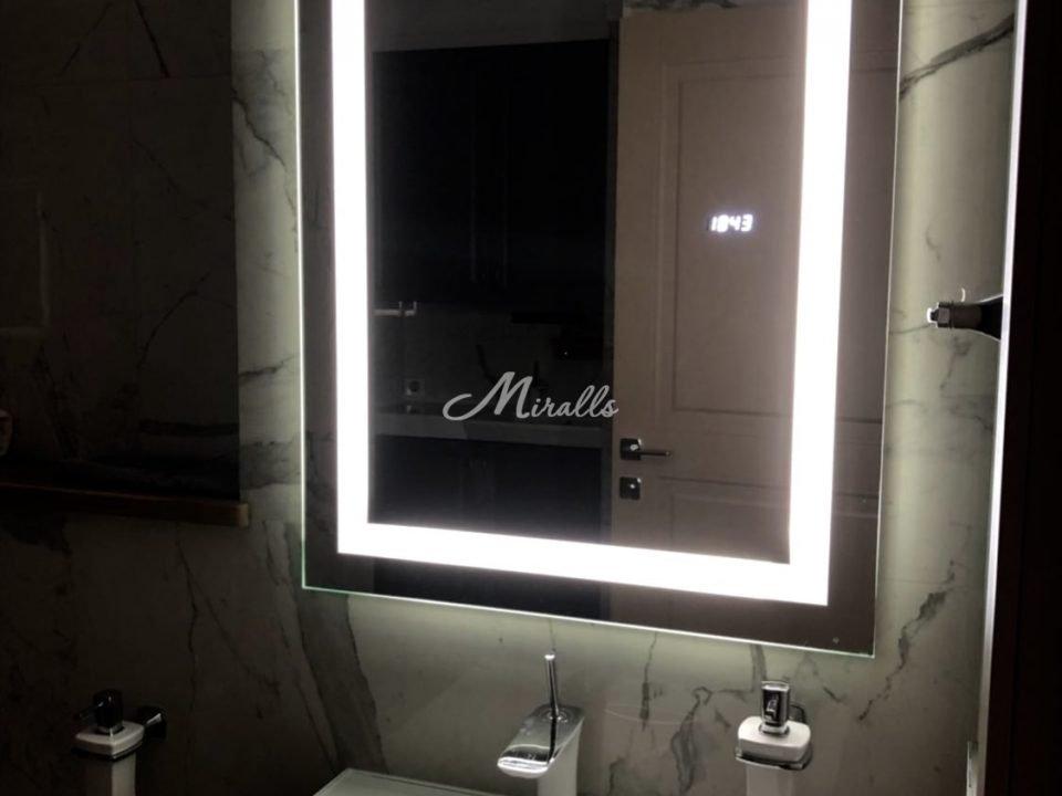 Зеркало Edging в частной квартире (ЖК Английская миля)