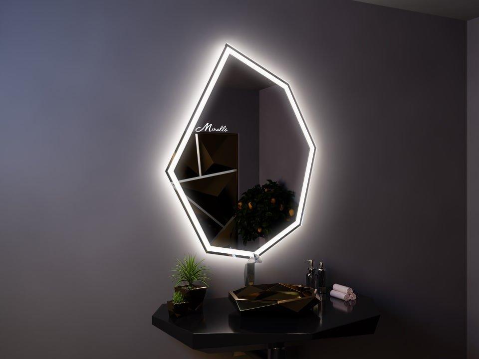 Зеркало с подсветкой Crystal Plus