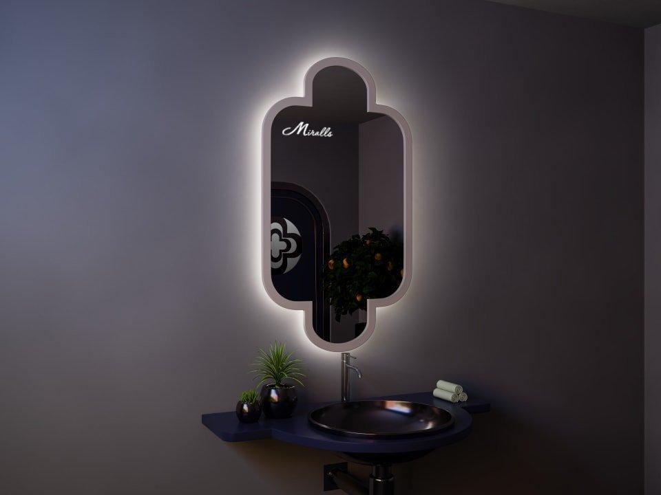 Зеркало с подсветкой в восточном стиле Marocco