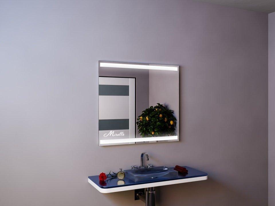 Зеркало со светящимися полосами Nevada