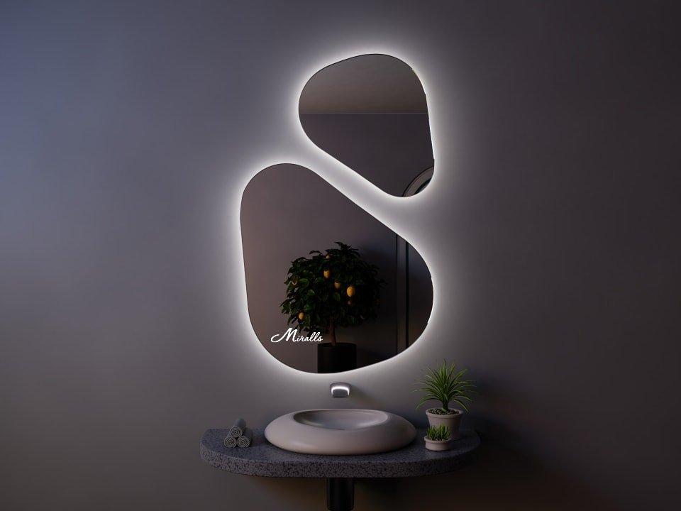 Зеркало с подсветкой Opal Double