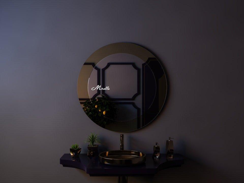 Круглое зеркало без подсветки Shine