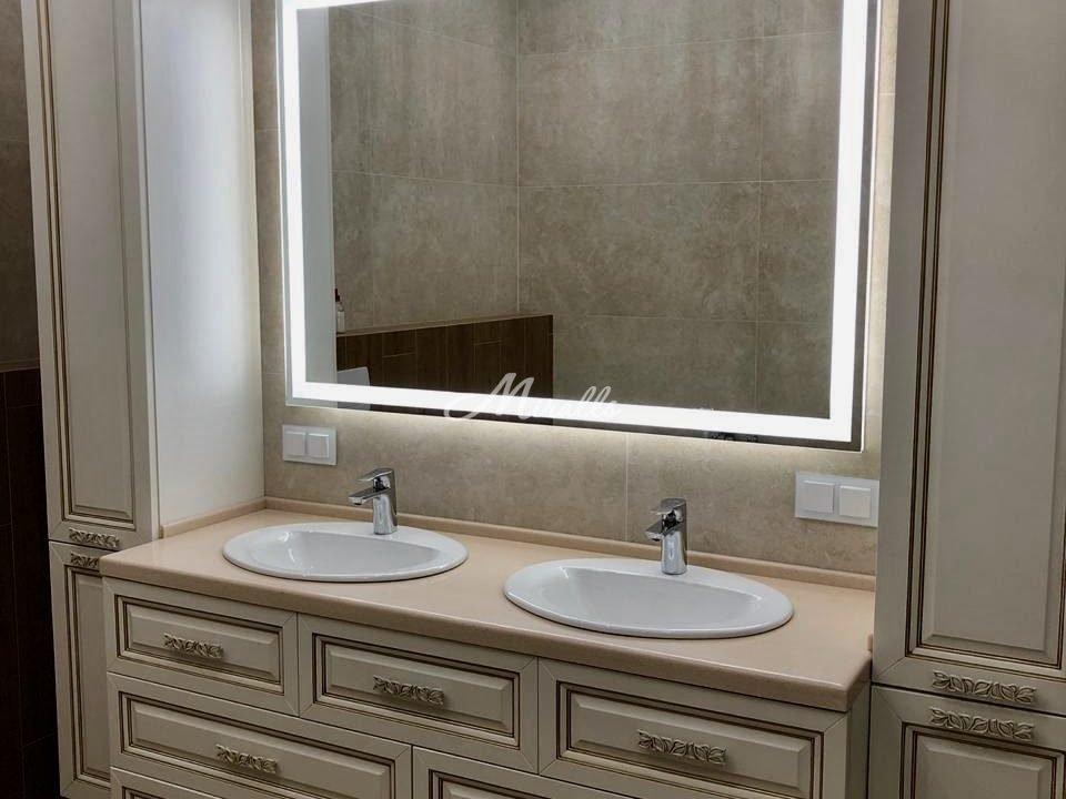 Зеркало Edging с нейтральной подсветкой