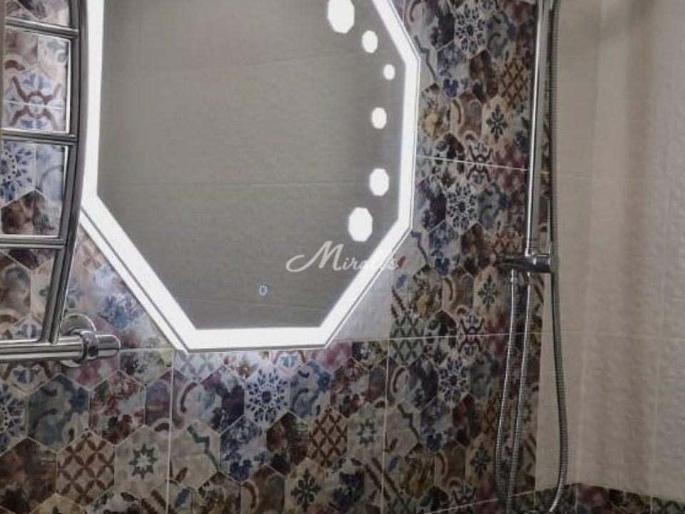 Зеркало Prisma по индивидуальному проекту (ЖК Аэробус)