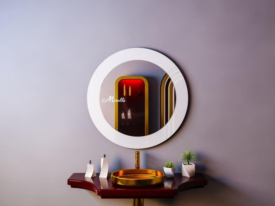 Комбинированное круглое зеркало Halo