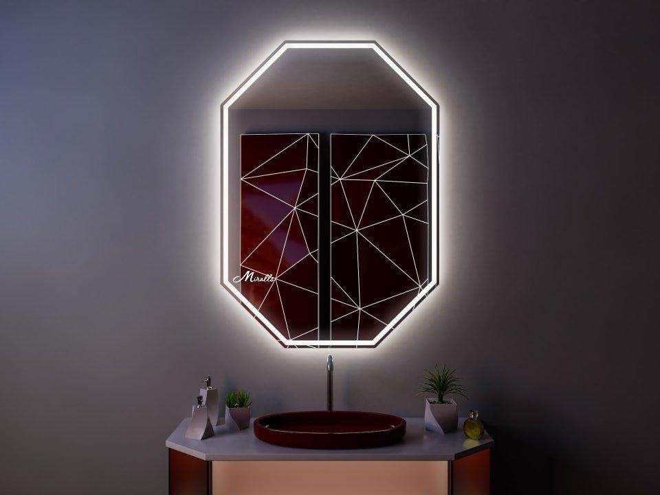 Зеркало с подсветкой Major