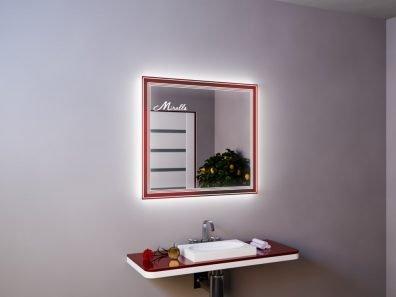 Зеркало с подсветкой Royal Red